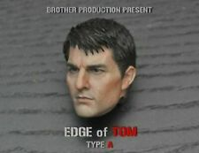 "Edge of Tomorrow 1/6th Tom Cruise Male Head Sculpt Model For 12"" Action Figure"