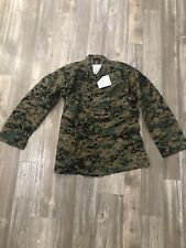 NEW! US Military MARPAT USMC digital Woodland Camo Cammies Shirt / Blouse Medium