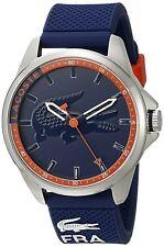 Lacoste Original 2010842 Men's Capbreton Blue Silicone Strap 46mm