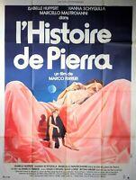 Plakat Kino DIE GESCHICHTE Pierra Marco Ferreri Isabelle Huppert 120 X 160 CM