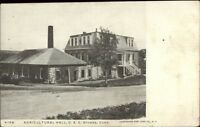 Storrs CT Agri College c1910 Postcard #2