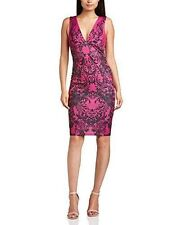 Lipsy V Neck Stretch, Bodycon Floral Dresses for Women