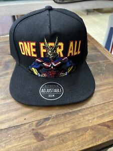 My Hero Academia Snapback Hat Cap Officially Licensed ONE FOR ALL