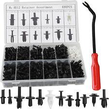 690Pcs Car Automotive Push Pin Rivet Trim Clip Panel Moulding Kit Screwdriver US