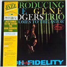 GENE RODGERS TRIO JAZZ COMES TO THE ASTOR RARE JAPAN LP w/OBI