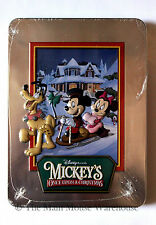 Mickey & Friends in Mickey's Once Upon a Christmas on DVD in Collectible Tin