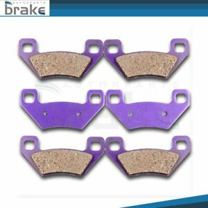 BIKEMASTER Brake Pads Front Left//Right for ARCTIC CAT 500 MT//AT 2005-2009