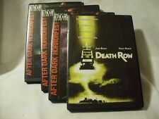 DVD 4 HORROR MOVIE LOT (3 x AFTER DARK + DEATH ROW)