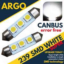 2x Skoda Octavia 1U2 2.0 239 C5W Weiß Innenraum Kofferraum Lampen Hochleistung