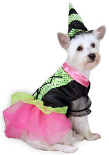 Dog Costume Closeout SMALL Witchy Business Wickedley Cute Witch Outfit and Hat