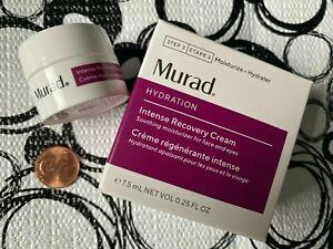 Murad INTENSE RECOVERY CREAM * .25 oz Travel Jar * New in Box