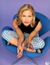 Christina Applegate Signed Autographed 11X14 Photo Sexy Vintage Plaid GV766299