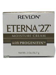 Revlon Eterna '27' Moisture Cream with Progenitin 2 oz, Skin Moisturizer,