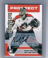 2006-07 ITG Heroes and Prospects Autographs #ANM Nathan Marsters NM-MT Auto