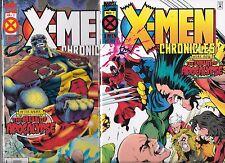 X-MEN CHRONICLES #1-#2 SET (NM-) THE AGE OF APOCALYPSE