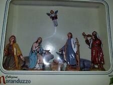 Moranduzzo Italy Holy Family Nativity Figure Set Joseph Mary Jesus Angel Animal