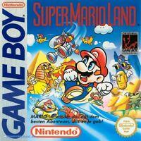 Nintendo GameBoy Spiel - Super Mario Land 1 Modul mit Anl.