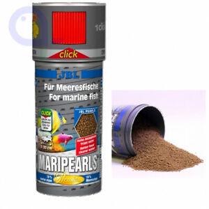 JBL MariPearls- Granulat Perlen Meerwasser Futter  250ml Click