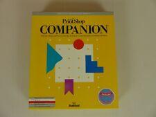 Broderbund - Print Shop Companion - Design Software Vintage IBM 1989