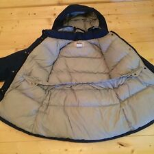 1970's REI Gore-tex Goose Down Hooded Puffer Jacket Coat Womens Large / 14 USA