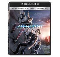 The Divergent Series: Allegiant [4K Ultra HD+Blu-ray+Digital HD]+Slip Cover+New!