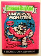 2019 Super7 Garbage Pail Kids x Universal Monsters Pink Wax Pack(White Creature)