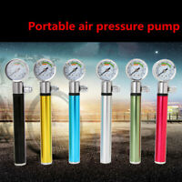 Mini Bike Bicycle Pump with Gauge 88psi Portable Lightweight Tyre Air Inflator