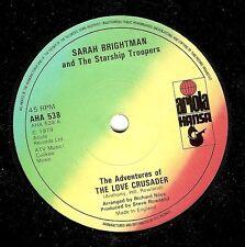 SARAH BRIGHTMAN The Adventures Of The Love Crusader 7 Inch Ariola Hansa AHA 538