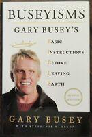 Gary Busey Signed Book - Beckett BAS