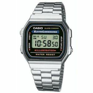Casio Armbanduhr A168WA-1YES Herrenuhr Armbanduhr Neu