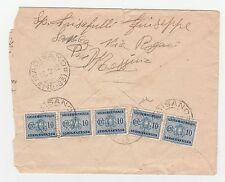FRANCOBOLLI 1942 REGNO CINQUE 10 C. (35 SEGNA TASSE) A/6825