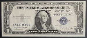 1935-G Silver Certificate $1 Blue Seal Dollar Bill Note High Grade (C140)