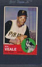 1963 Topps #087 Bob Veale Pirates VG/EX *495