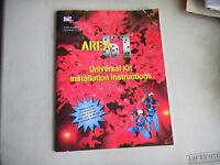 AREA 51 UNIVERSAL KIT  ATARI   video game  arcade   game manual