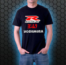 Suzuki GSXR Yoshimura 100% Cotton T-Shirt NEW.
