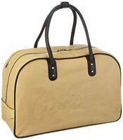 NEW Brown NIKE NSW 76 LEATHER HOLDALL Retro Bag Large Luggage Duffle Gym Bowling