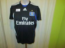 """Hamburger SV Original Adidas Ausweich Trikot 2007/08 """"Fly Emirates"""" Gr.176- S"""