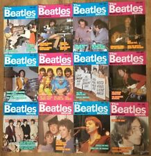1987 Complete Year of The Beatles Book Monthly All Months Set Magazine 129-140