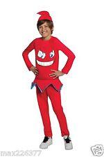 NEW Pac-Man & Ghostly Adventures Halloween Sensations Blinky Costume 12-14years