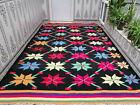 Moroccan Handmade Vintage Rug Azilal Wool Rug Beni ourain Berber Tribal Carpet