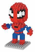 LEGO MATTONCINI SPIDERMAN 3D SUPEREROI CON SCATOLA NUOVI 160 PEZZI COSTRUZIONI