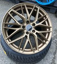 18 Zoll Damina DM08 Alu Felgen 5x112 et45 Bronze für Mercedes Audi VW Skoda RS S