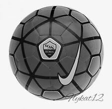 Nike AS Roma Supporters Soccer Ball Wolf Grey/Black Sz 4