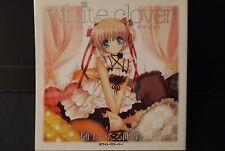 "JAPAN Itaru Hinoue Art works ""white clover"" (Rewrite,CLANNAD,Air,Kanon Art Book)"
