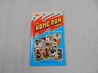 Topps Home Run Paperback Book Baseball 1985