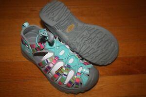 New In Box Keen Youth Whisper 1014257 Raya Fusion Sandal SHIP FREE US FAST