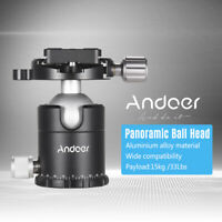 Andoer X-36S Photographic Ball Head Ballhead Tripod Head Monopod Head V9O3