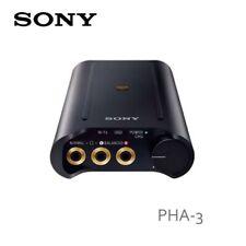 Sony PHA-3 Portable High-Resolution DAC Headphone Amplifier (Black)