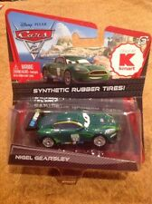 NEW Disney Pixar Cars 2 Nigel Gearsley w/ Rubber Tires K Mart Day 7 Exclusive