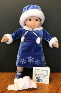 AMERICAN GIRL BITTY BABY SILVER BELLS OUTFIT 2004